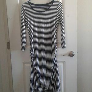 Liz Lange Maternity T-shirt  Dress sz XS